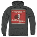Elvis Presley pull-over hoodie Greatest adult charcoal