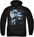 Elvis Presley pull-over hoodie Hillbilly Cat adult black