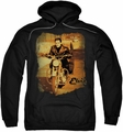 Elvis Presley pull-over hoodie Hit The Road adult black