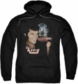 Elvis Presley pull-over hoodie Home Sweet Home adult black