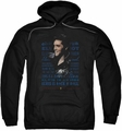 Elvis Presley pull-over hoodie Icon adult black