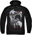 Elvis Presley pull-over hoodie International Hotel adult black