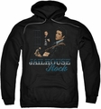 Elvis Presley pull-over hoodie Jailhouse Rock adult black