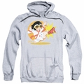 Elvis Presley pull-over hoodie Karate King adult athletic heather