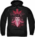 Elvis Presley pull-over hoodie Lets Face It adult black