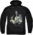 Elvis Presley pull-over hoodie Painted King adult black