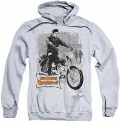 Elvis Presley pull-over hoodie Roustabout Poster adult athletic heather
