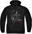 Elvis Presley pull-over hoodie Show Stopper adult black