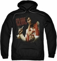 Elvis Presley pull-over hoodie Soulful adult black
