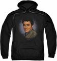 Elvis Presley pull-over hoodie Starlite adult black