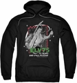 Elvis Presley pull-over hoodie Still Rockin adult black