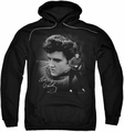 Elvis Presley pull-over hoodie Sweater adult black
