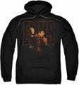 Elvis Presley pull-over hoodie Take My Hand adult black