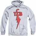 Elvis Presley pull-over hoodie TCB adult athletic heather