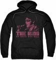 Elvis Presley pull-over hoodie The King adult black