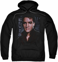 Elvis Presley pull-over hoodie Tough adult black