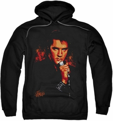 Elvis Presley pull-over hoodie Trouble adult black