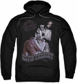 Elvis Presley pull-over hoodie Violet Vegas adult black