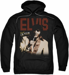 Elvis Presley pull-over hoodie Viva Star adult black