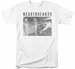 Elvis Presley t-shirt Heartbreaker mens white