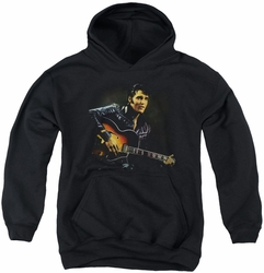 Elvis Presley youth teen hoodie 1968 black
