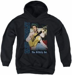 Elvis Presley youth teen hoodie Memphis black
