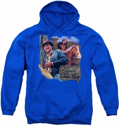 Elvis Presley youth teen hoodie Ranch royal blue