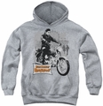 Elvis Presley youth teen hoodie Roustabout Poster athletic heather