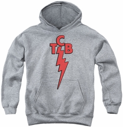 Elvis Presley youth teen hoodie Tcb athletic heather