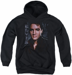 Elvis Presley youth teen hoodie Tough black