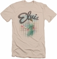 Elvis slim-fit t-shirt Colorful King mens cream/ivory