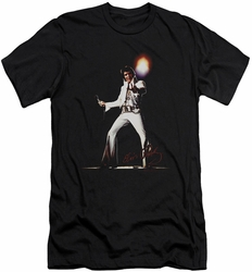 Elvis slim-fit t-shirt Glorious mens black