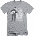 Elvis slim-fit t-shirt In Person mens athletic heather