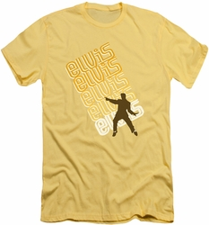 Elvis slim-fit t-shirt Pointing mens banana