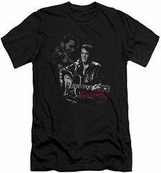 Elvis slim-fit t-shirt Show Stopper mens black