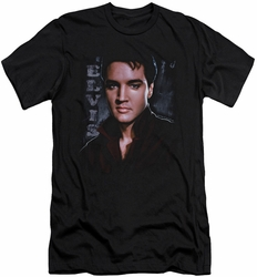 Elvis slim-fit t-shirt Tough mens black