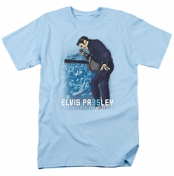 Elvis t-shirt 35Th Anniversary 3 mens light blue