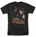 Elvis t-shirt Are You Lonesome mens black