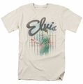 Elvis t-shirt Colorful King mens cream/ivory