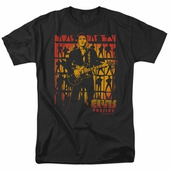 Elvis t-shirt Comeback Spotlight mens black