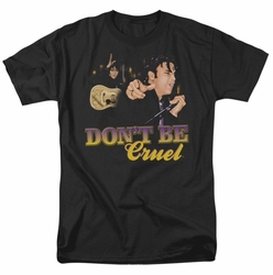 Elvis t-shirt Don'T Be Cruel mens black