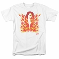 Elvis t-shirt His Latest Flame mens white