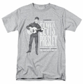 Elvis t-shirt In Person mens athletic heather