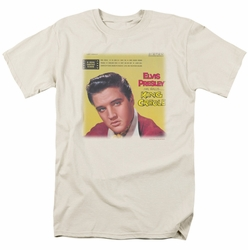 Elvis t-shirt King Creole Soundtrack mens cream