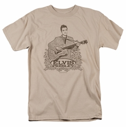 Elvis t-shirt Laurels mens sand