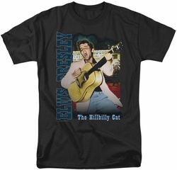 Elvis t-shirt Memphis mens black