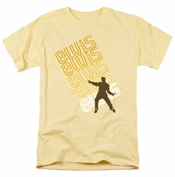 Elvis t-shirt Pointing mens banana
