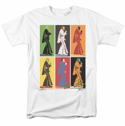 Elvis t-shirt Retro Boxes mens white