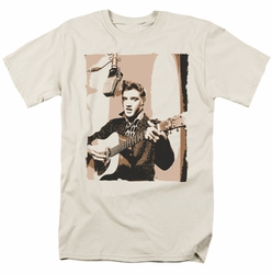 Elvis t-shirt Sepia Studio mens cream