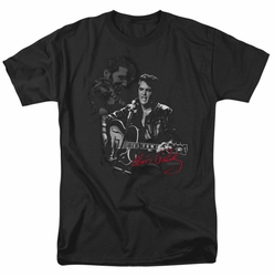 Elvis t-shirt Show Stopper mens black